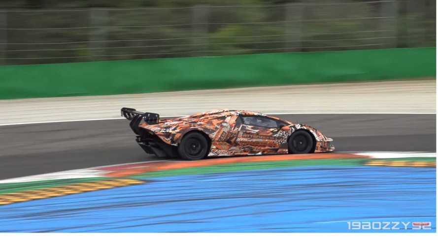 VIDÉO - La Lamborghini Essenza SCV12 fait du boucan à Monza