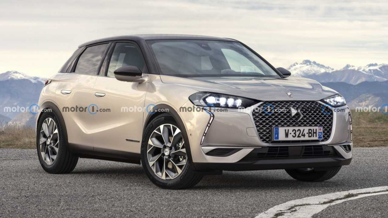 DS SUV rendering