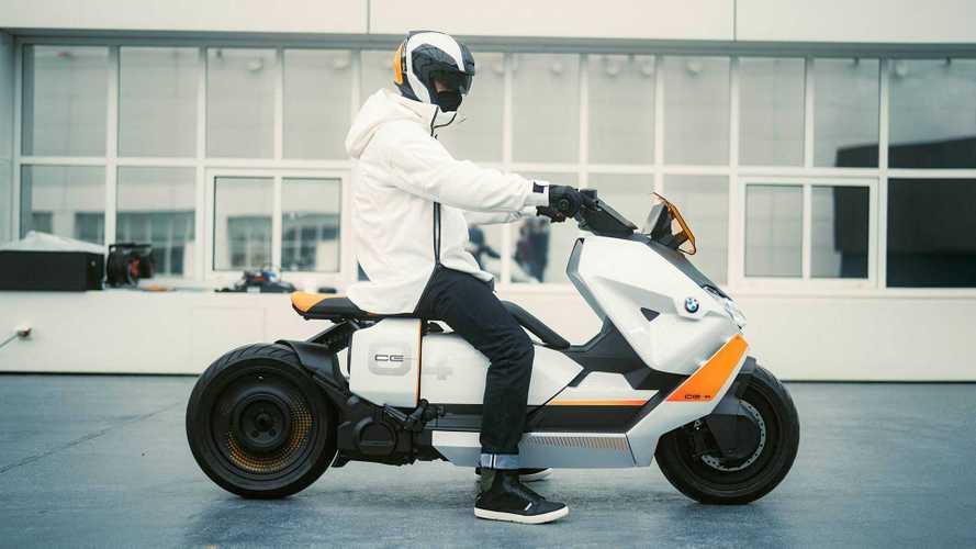 BMW présente un concept de scooter 100 % électrique