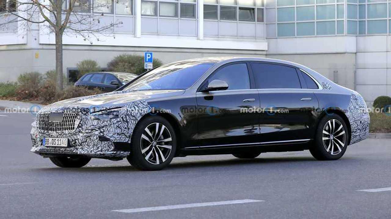 2020 Mercedes-Maybach S-Serisi Yeni Casus Fotoğraflar