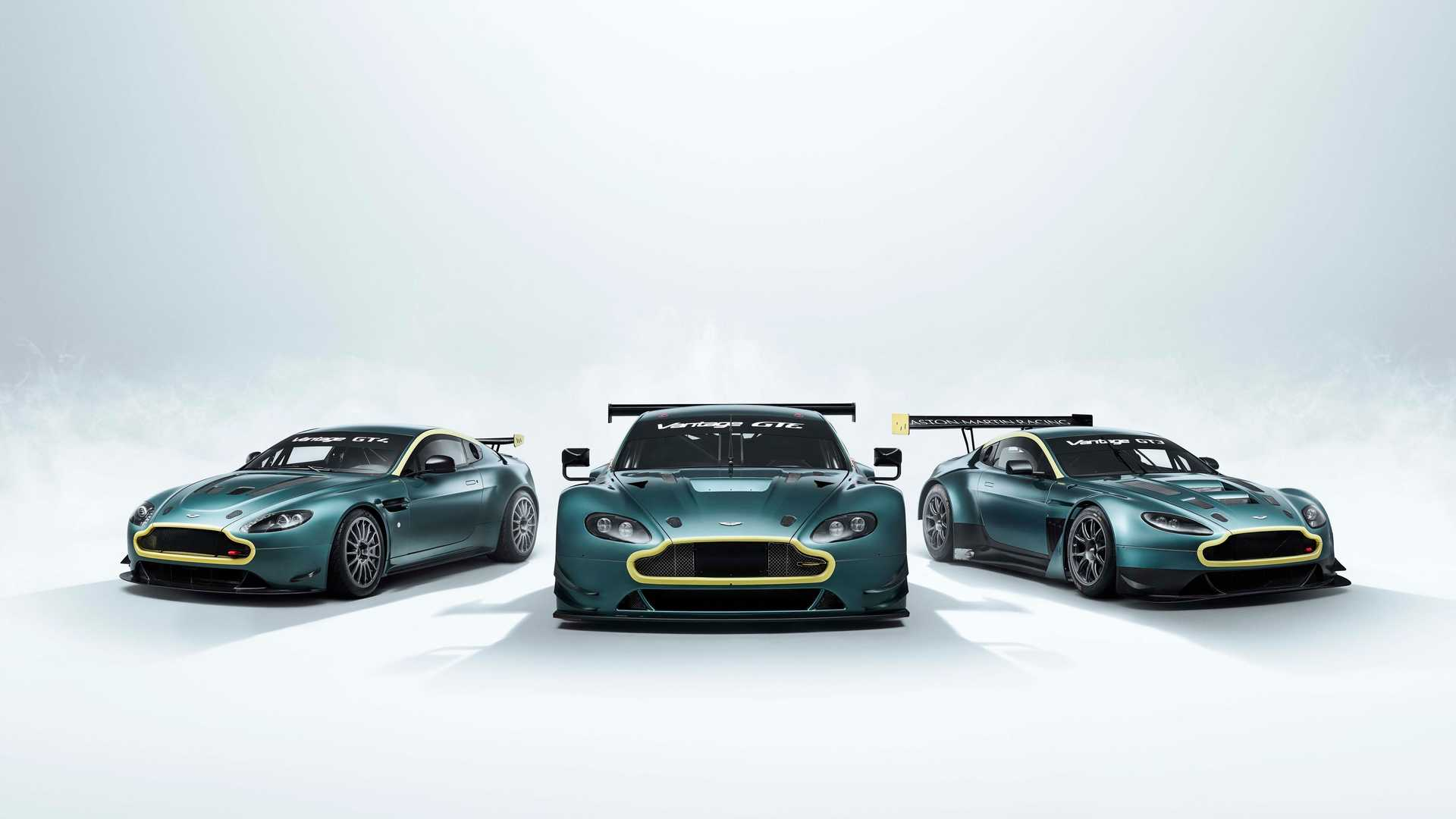 Aston Martin Selling Ready Made Collection Of Vantage Race Cars