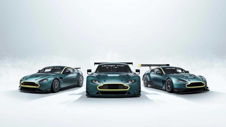 Aston Martin pone a la venta un genial trío de Vantage de carreras
