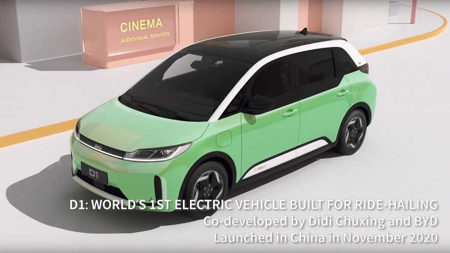China: Purpose-Built, Ride-Hailing BYD D1 Enters The Market
