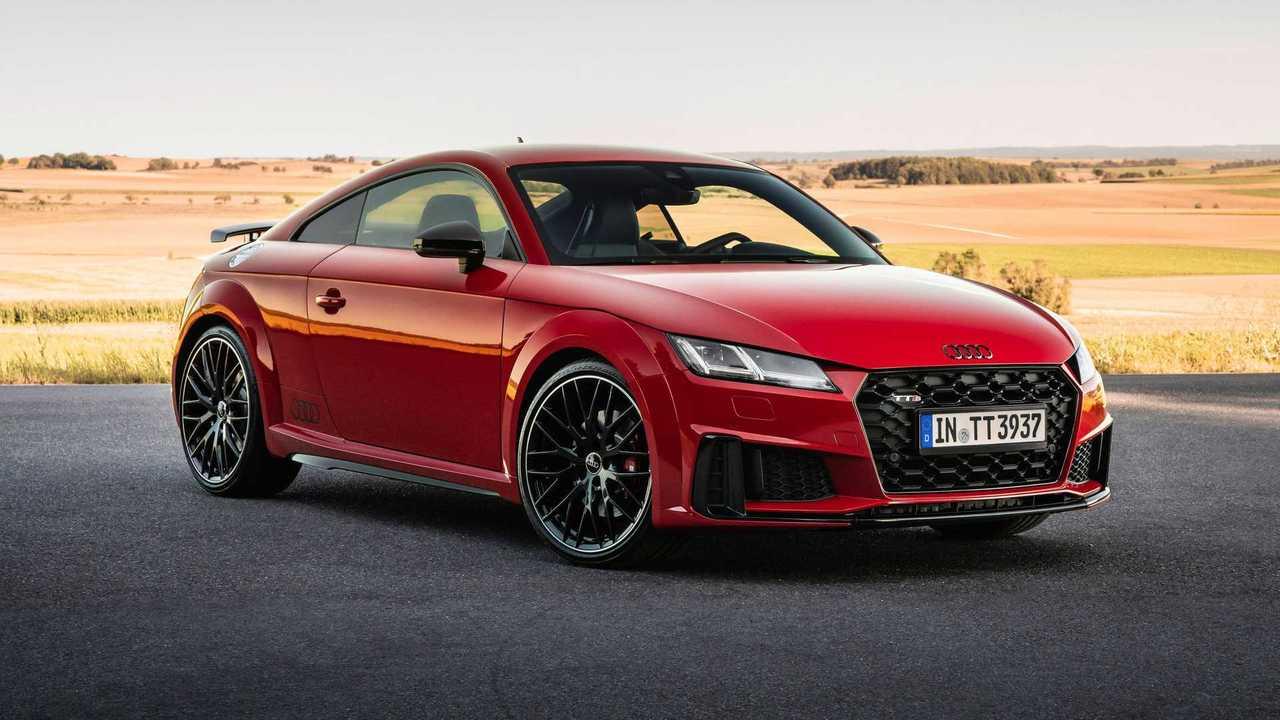 2021 Audi TTS Coupe Competition Plus