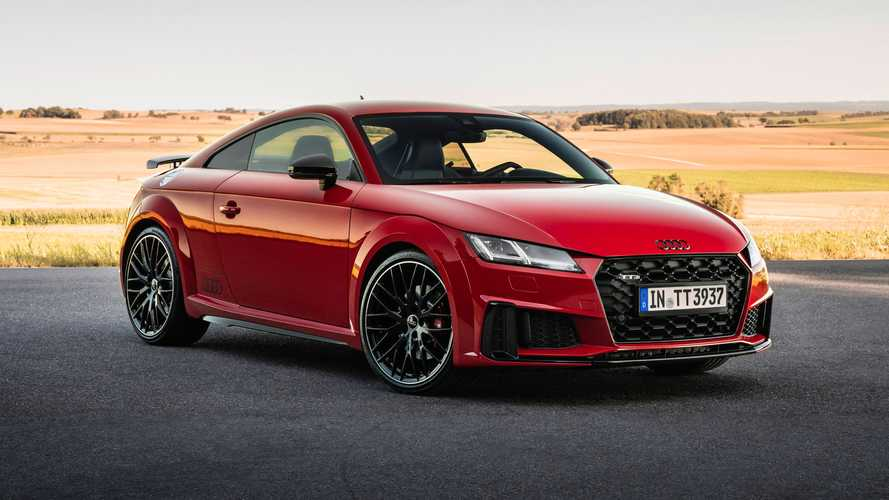 Audi TTS Competition Plus revealed in Europe with more power