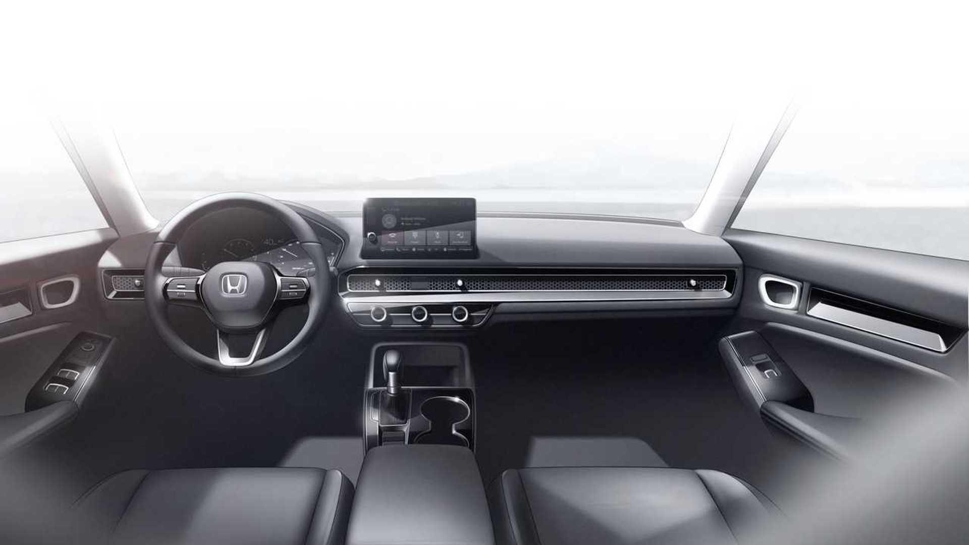 2022 Honda Civic Prototype Bold Looks Better Tech More Safety