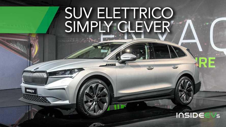 Skoda Enyaq, il SUV elettrico da 35.000 euro visto dal vivo