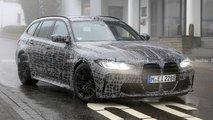 BMW M3 Touring (2022) zeigt sich auf neuen Erlkönigbildern