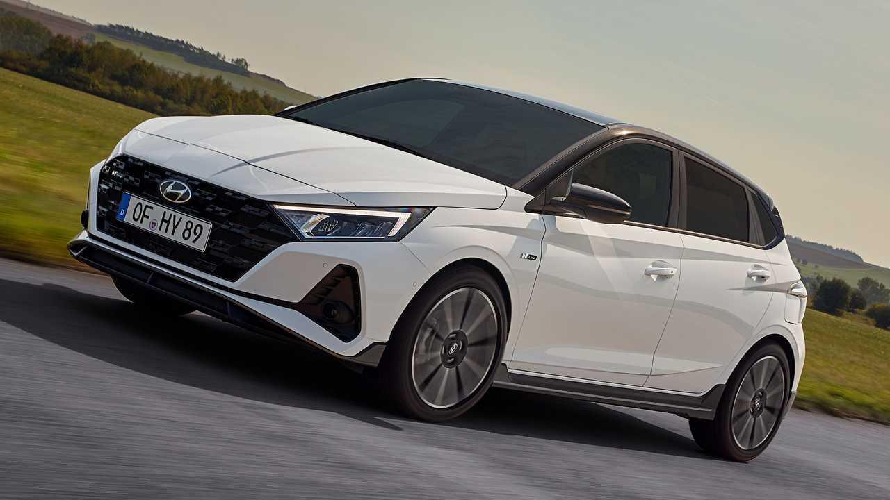 2021 Hyundai i20 N Line front quarter