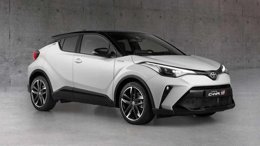 Toyota C-HR, vestito sportivo con l'allestimento GR Sport