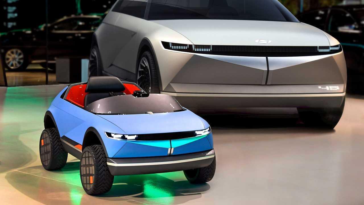 Hyundai: mini elétrico baseado no '45' Concept