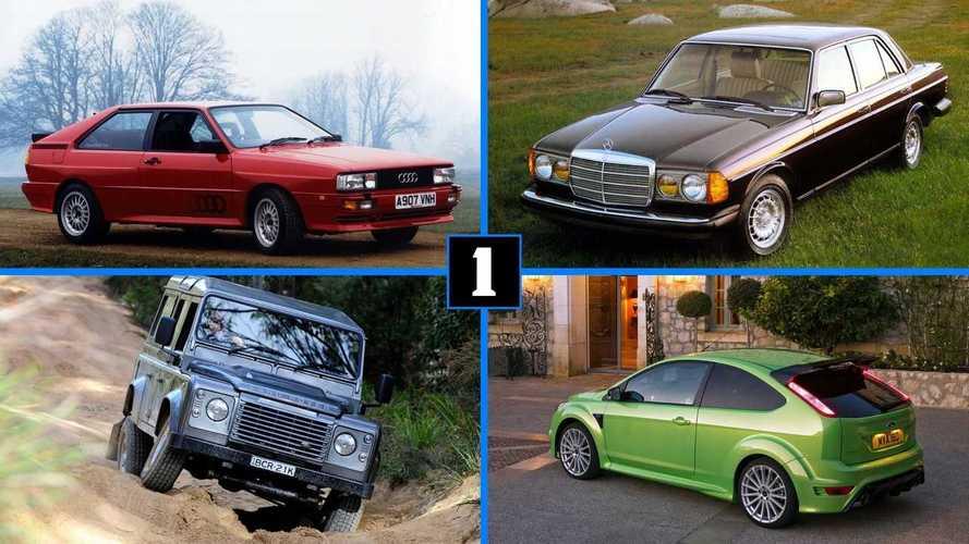 Посмотрите на 8 знаковых автомобилей с пятицилиндровым двигателем