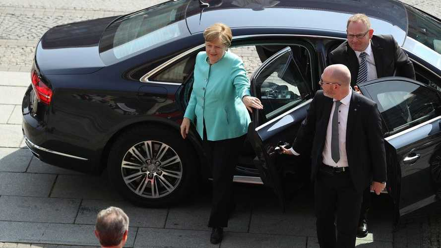 La chancelière allemande soutient le moteur thermique