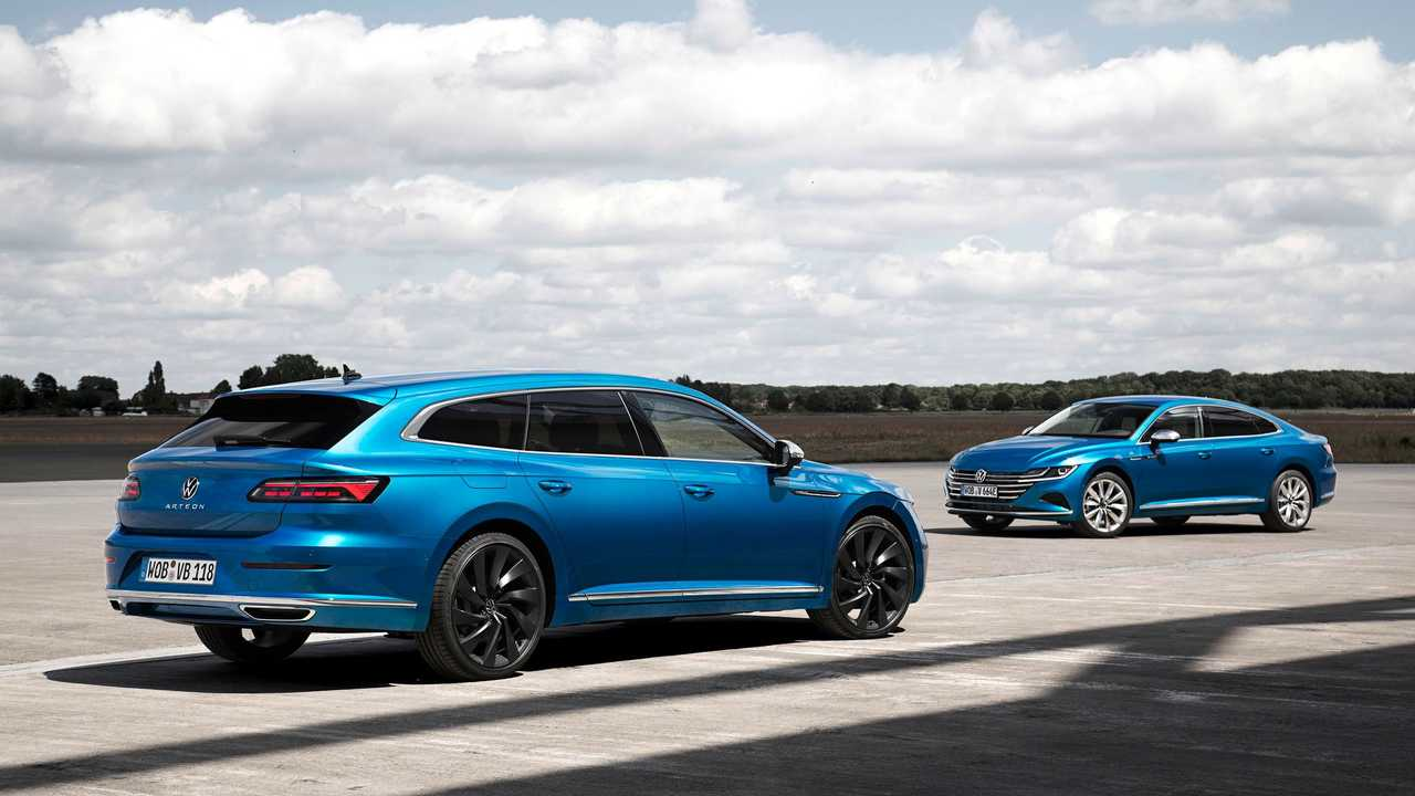 Volkswagen Shooting Brake and Arteon eHybrid