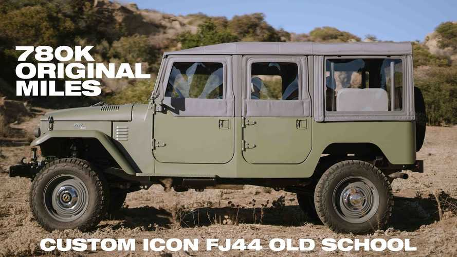 Check Out This Modified Land Cruiser FJ44 With 780,000 Miles