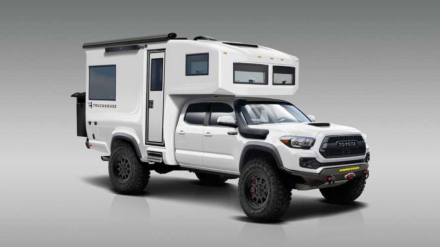 Carbon-Reinforced TruckHouse Tacoma 4x4 Camper Can Take You Anywhere