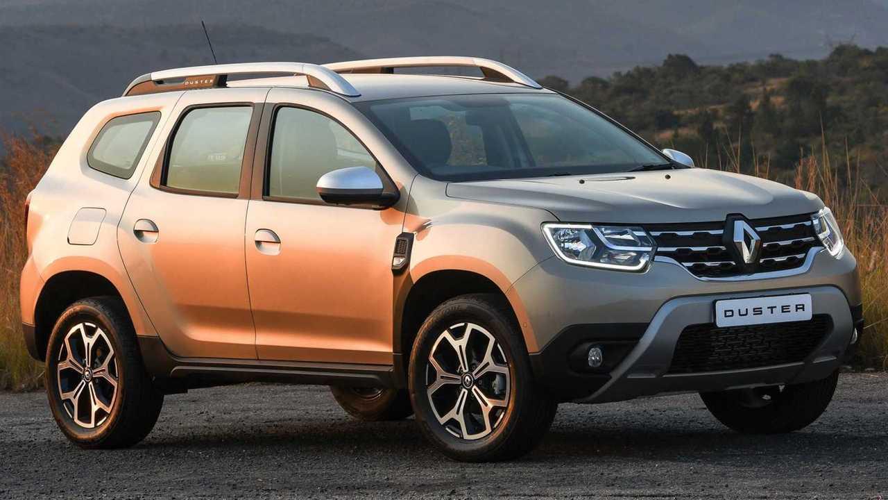 Renault Duster и его лючок бензобака