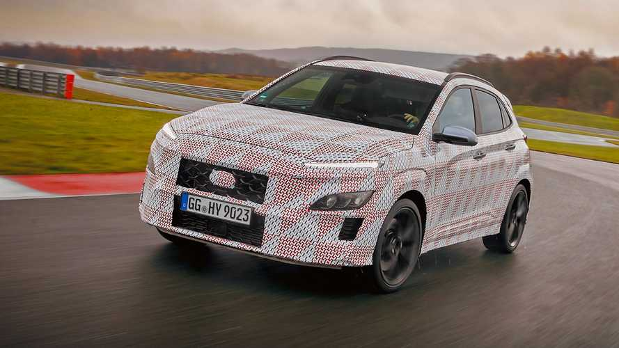 2022 Hyundai Kona N Teased Under Camo, First Specs Released