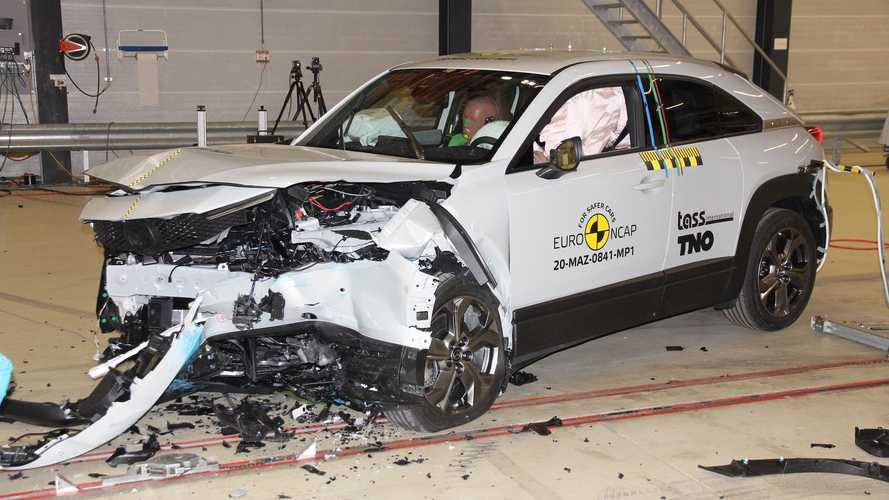 Nuova Mazda MX-30, i crash test Euro NCAP