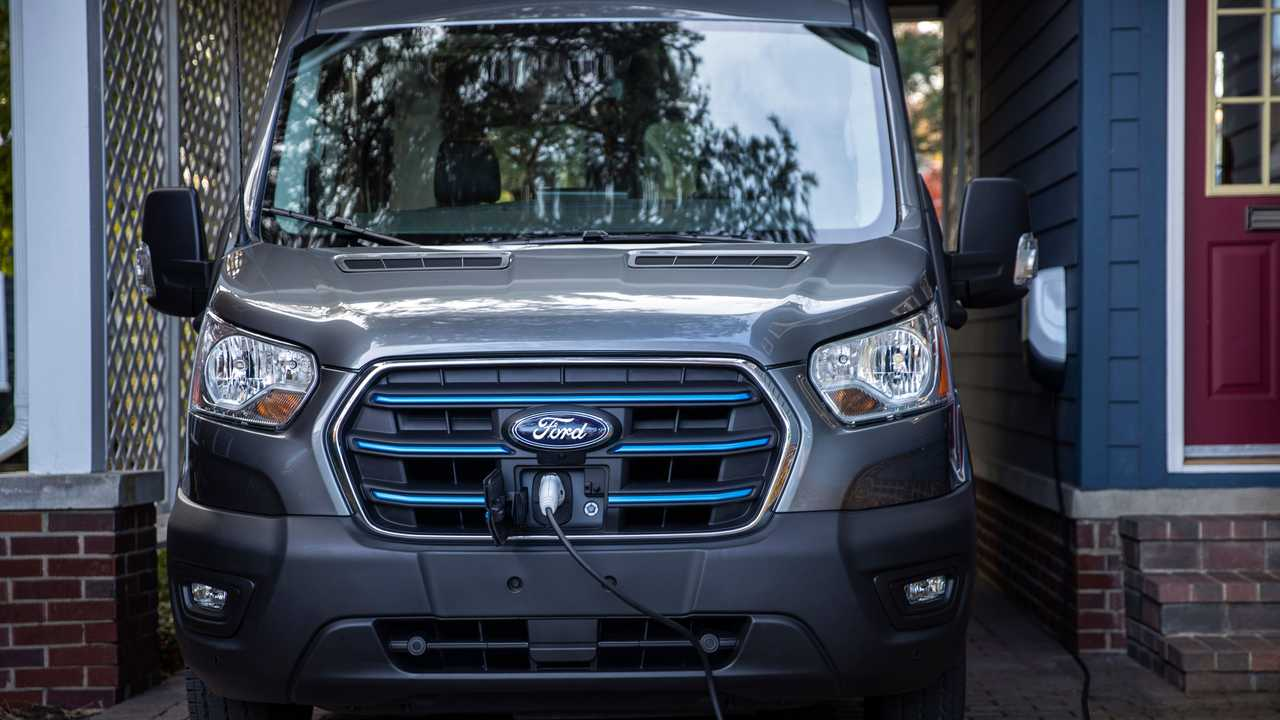 Ford E-Transit 2022 - van elétrica