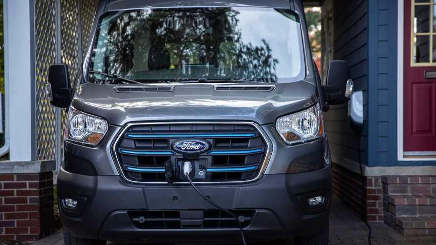 Nova Ford Transit eletrificada está nos planos para o Brasil