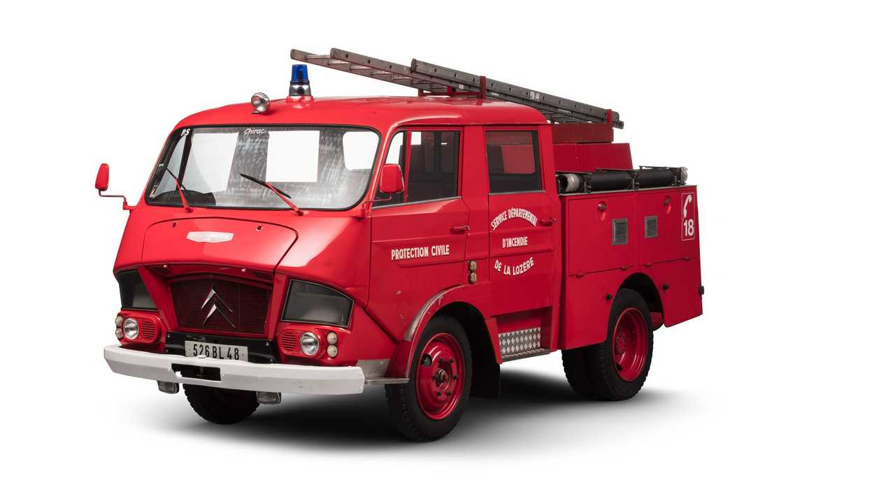 Citroën Feuerwehrfahrzeug: Typ N350 Belphégor