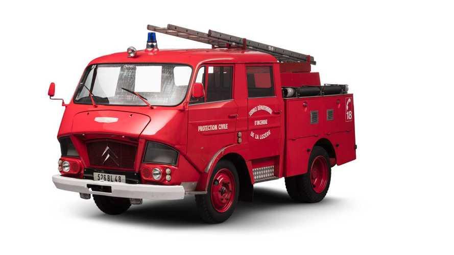 Citroën Typ N350 Belphégor: Französische Feuerwehr