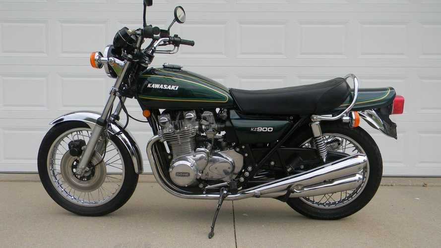 This 1976 KZ900 Was Kawasaki's Stepping Stone