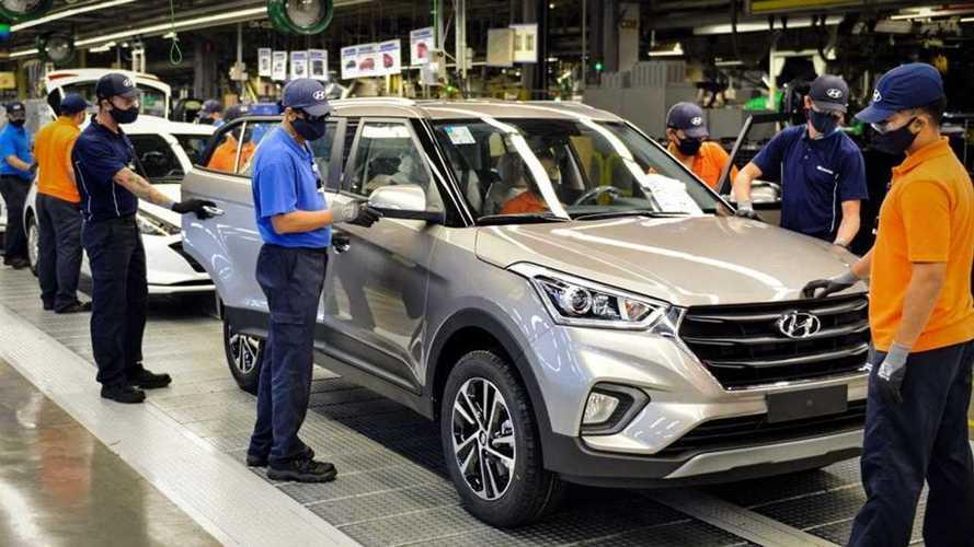 Anfavea: Indústria dribla falta de insumos e cresce em abril