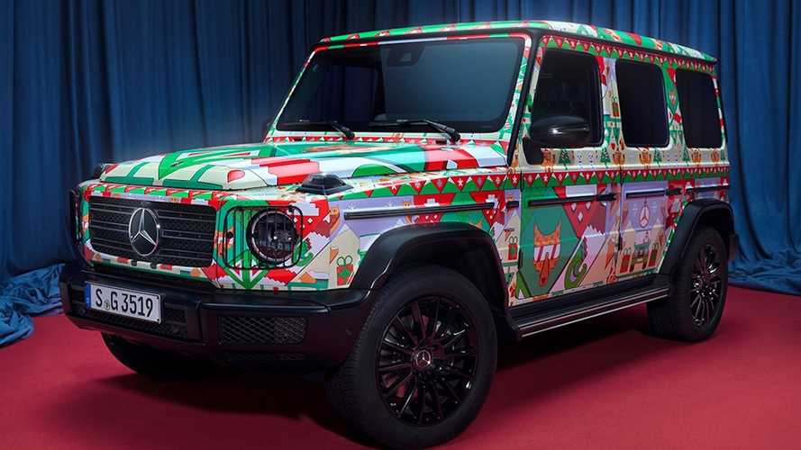 Mercedes-Benz Vehicles That Matches Your Ugly Christmas Sweater