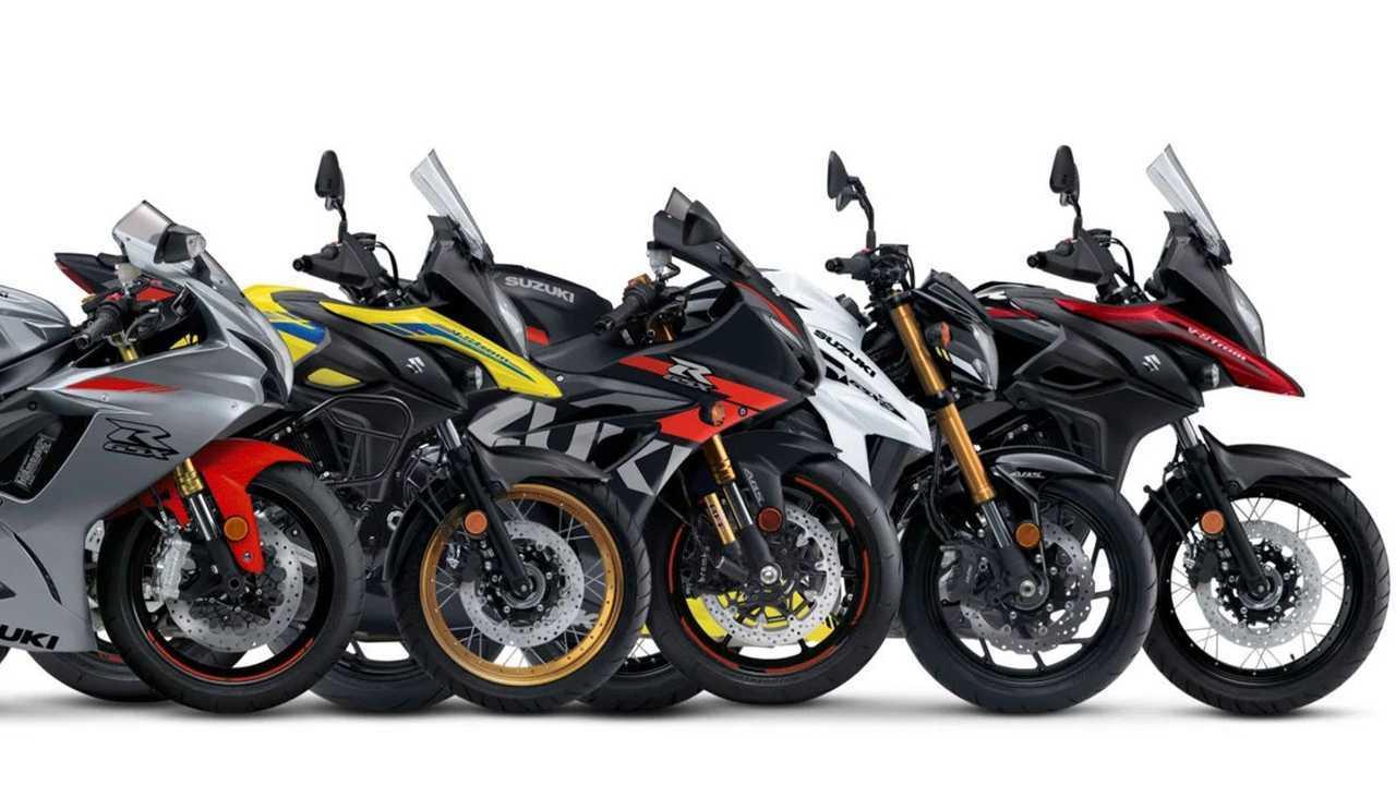 Suzuki 2021 Street Models