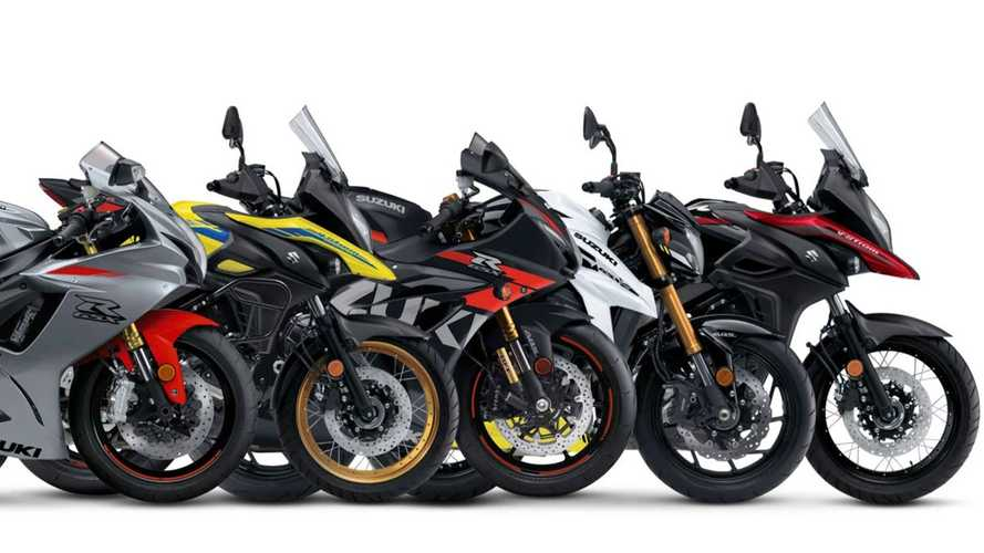 Suzuki Lifts The Covers On Returning 2021 Models