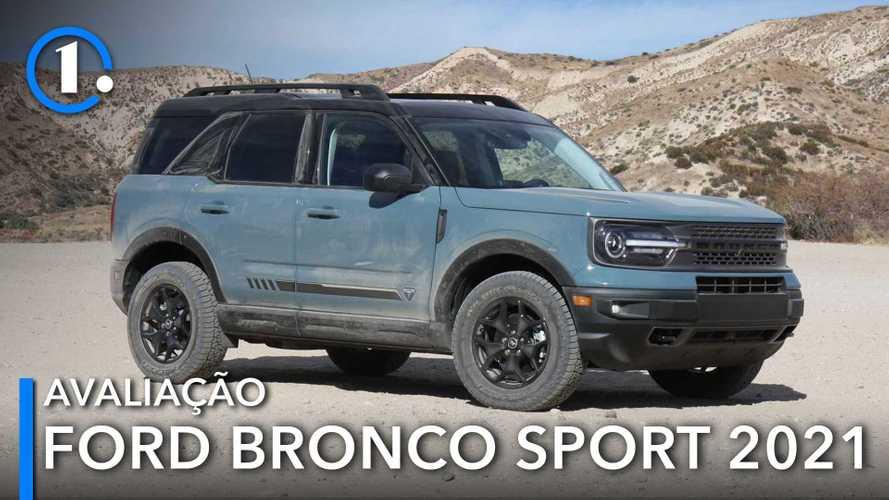 Já dirigimos: Novo Ford Bronco Sport quer fazer sombra na trilha do Compass