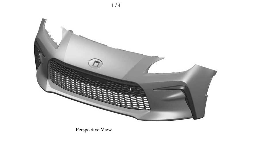 Next-gen Toyota GT86 front end possibly revealed in design trademark