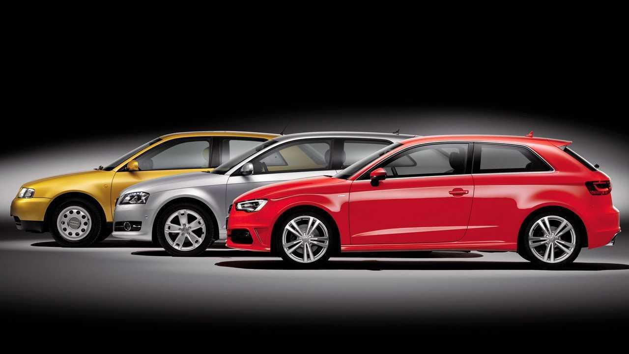 Audi A3 25 anni
