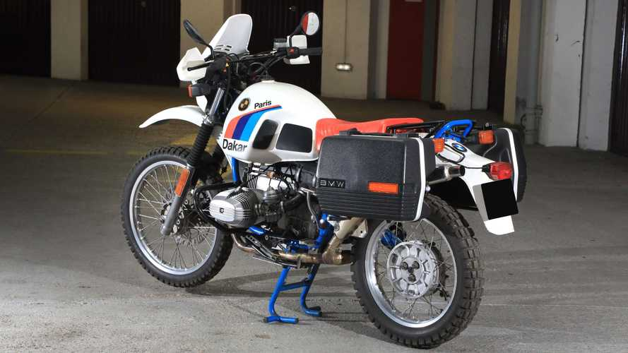 1985 BMW R 80 G/S Paris-Dakar
