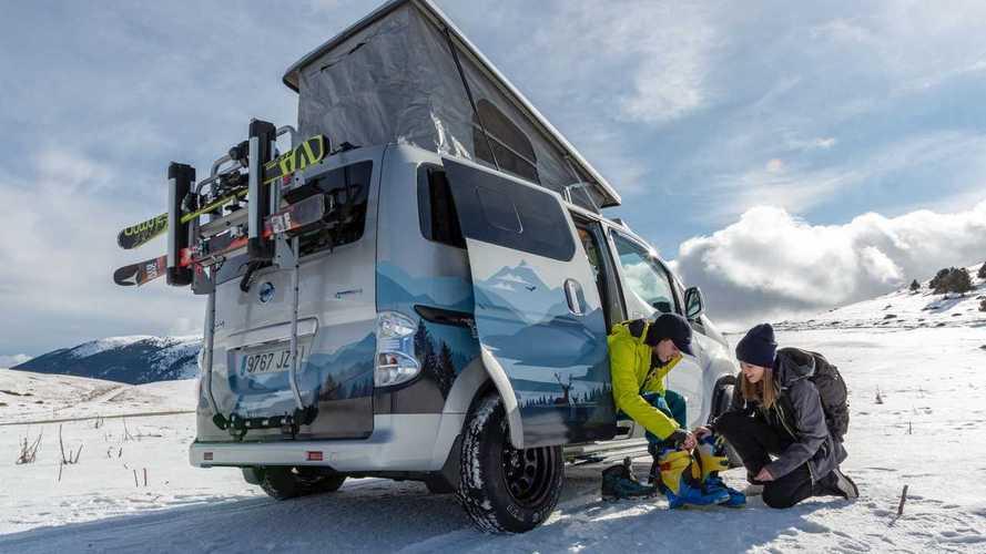 Nissan e-NV200 Winter Camper Concept mit Elektroantrieb