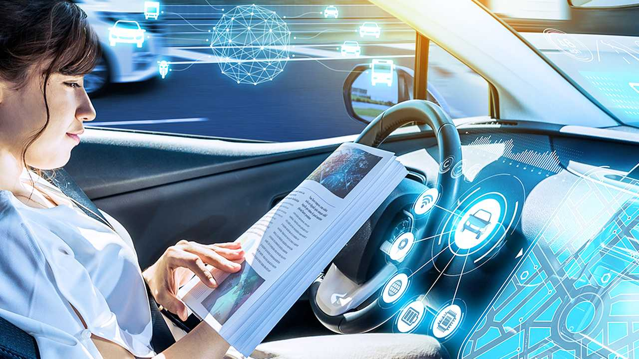 CES 2021, guida autonoma