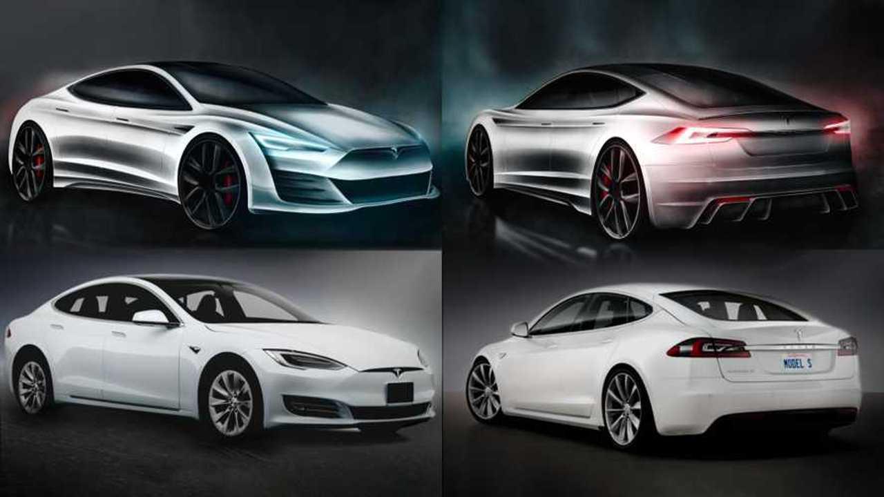 Tesla Mode S refresh rendering