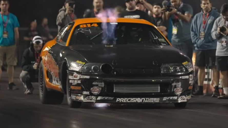 World's quickest, fastest stick-shift Supra drag car breaks own record
