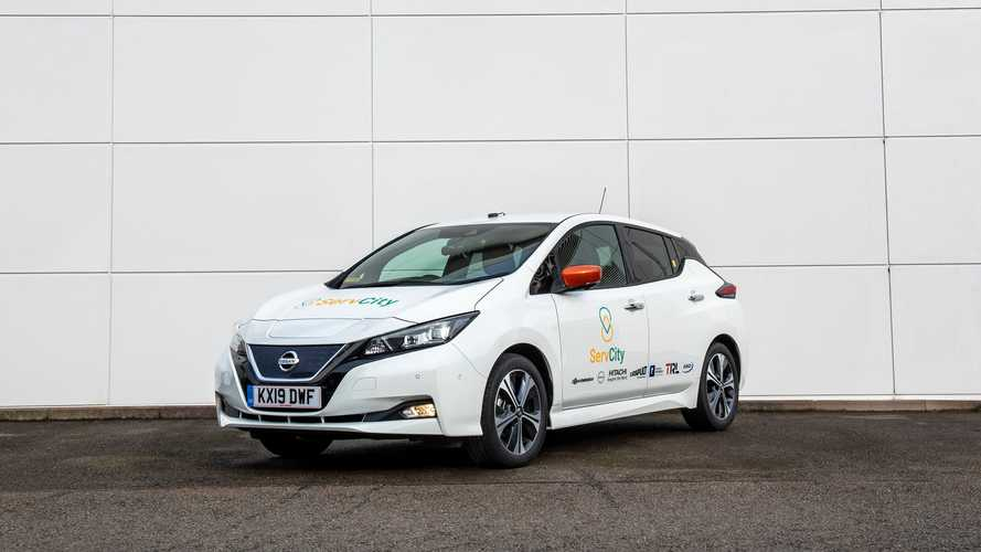 Nissan launches autonomous mobility project for busy UK cities