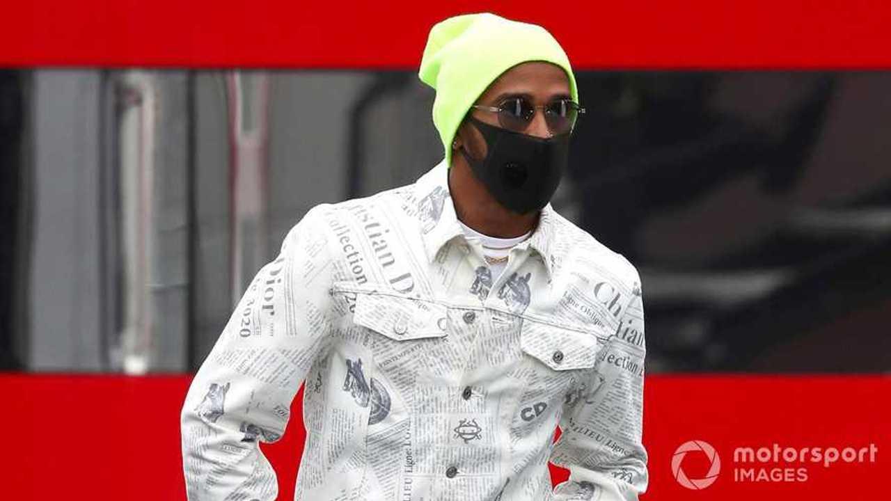 Lewis Hamilton at Eifel GP 2020
