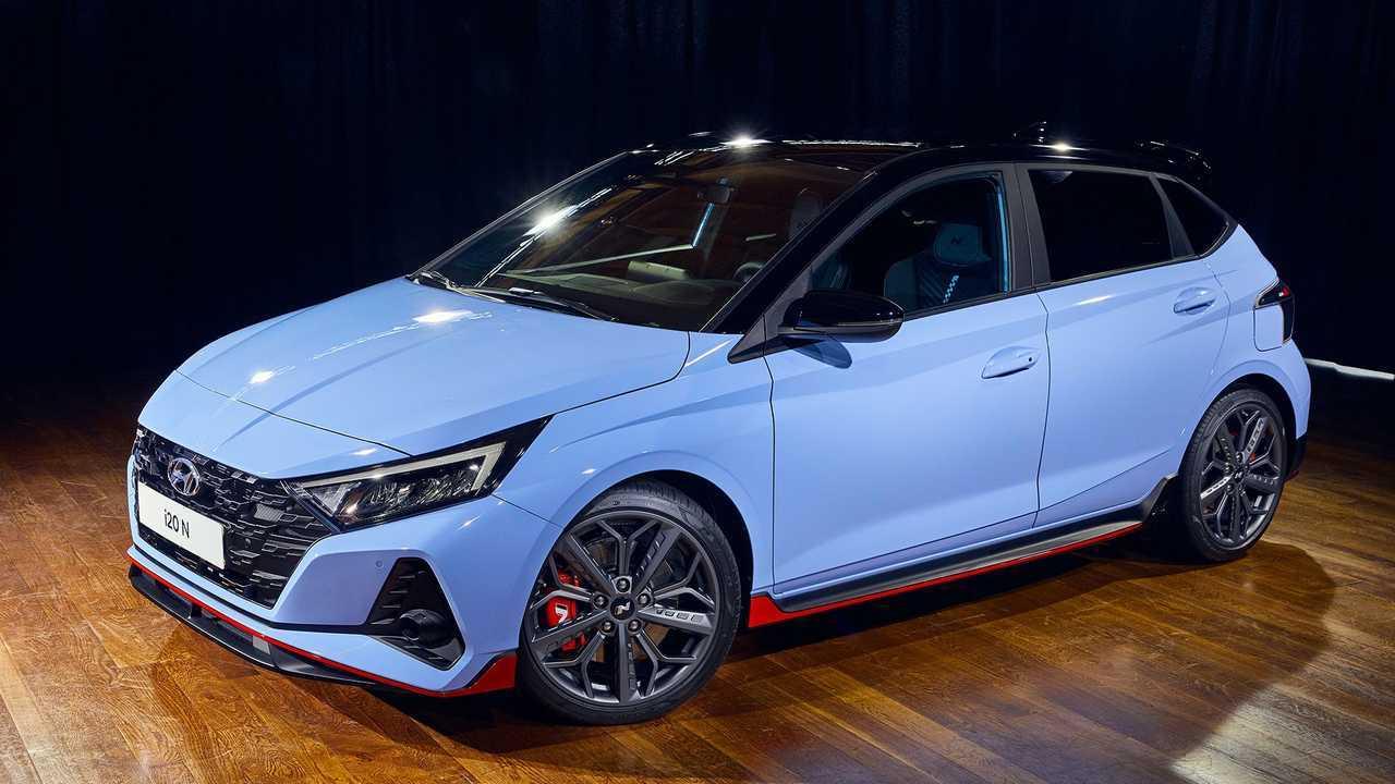 Hyundai i20 N (2020), профиль