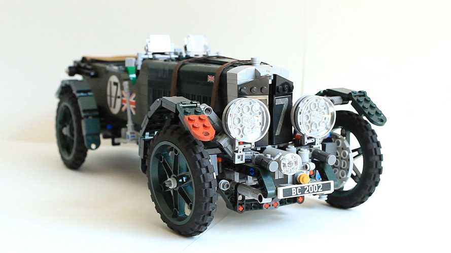 Lego Bentley Blower project needs your support to happen
