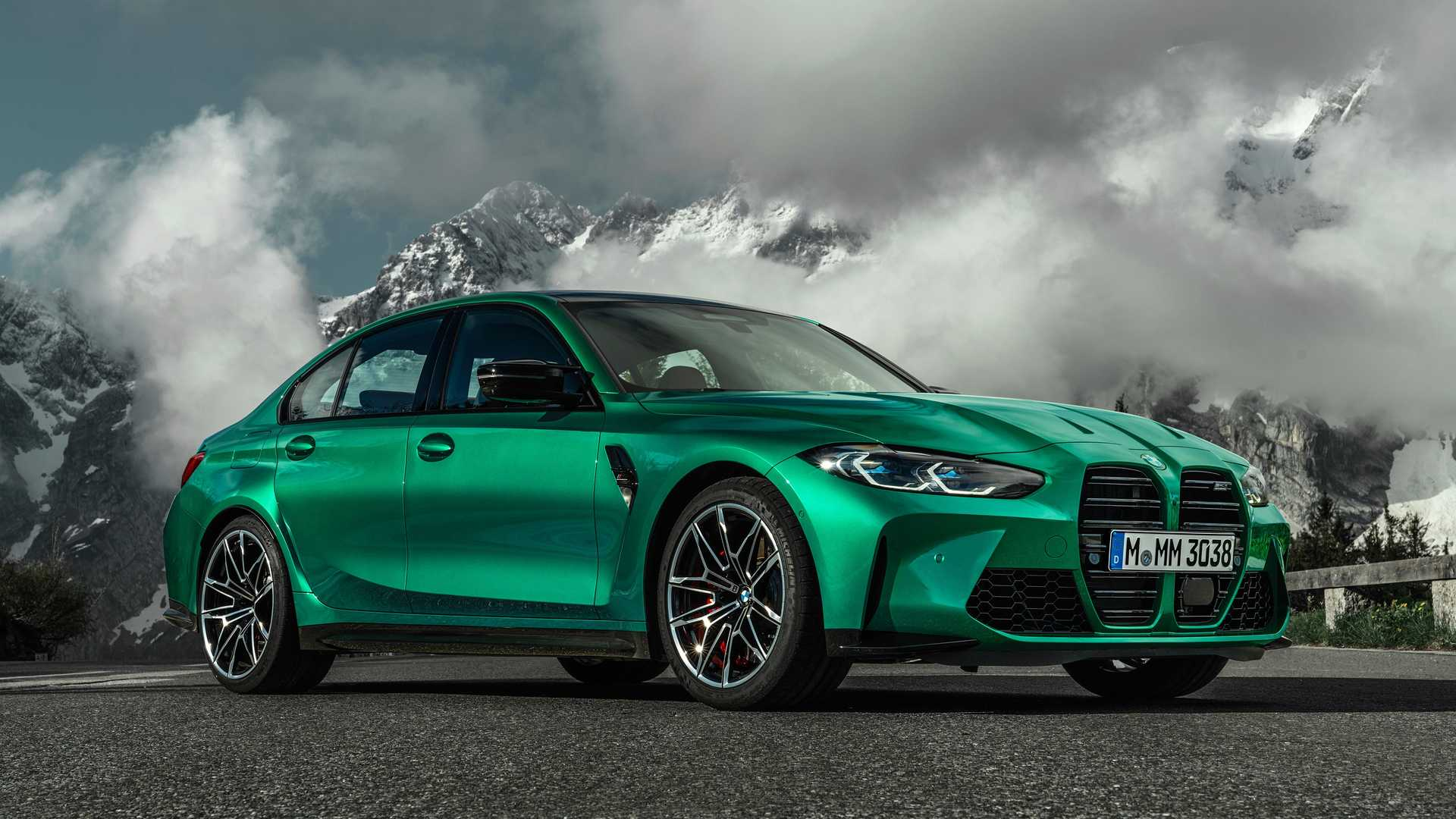 New Bmw M3 Competition Saloon Revealed Just Under 75 000