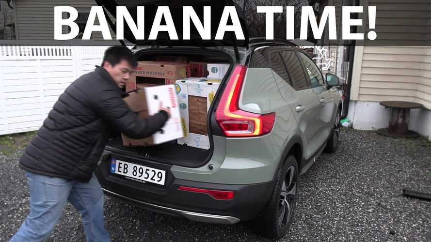 Volvo XC40 Recharge Matches Nissan LEAF In Banana Box Test