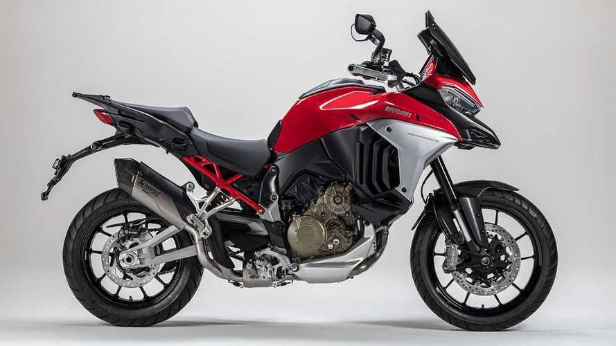 2021 Ducati Multistrada V4 Gets Two New Akrapovič Exhaust Options