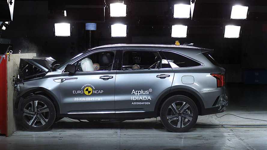 Euro NCAP: Five Stars For All Kia Sorento Versions (Including PHEV)