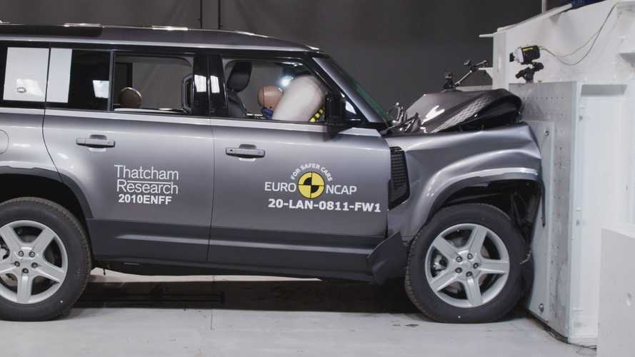 Euro NCAP: Five Stars For Land Rover Defender
