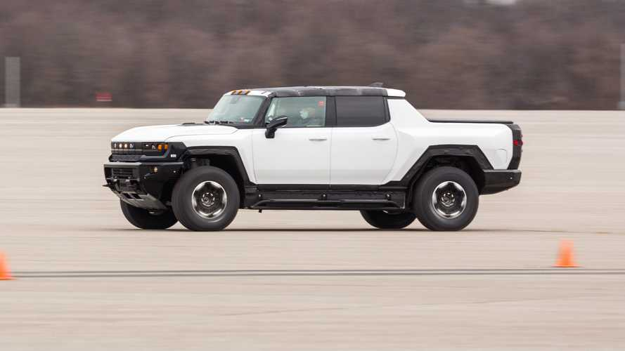 Watch GMC Hummer EV Begin Its Winter Testing Regimen
